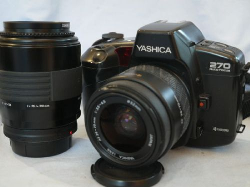 '  270 NICE SET ' Yashica 270AF SLR Camera + 28-70mm Lens + 70-210mm Lens £39.99